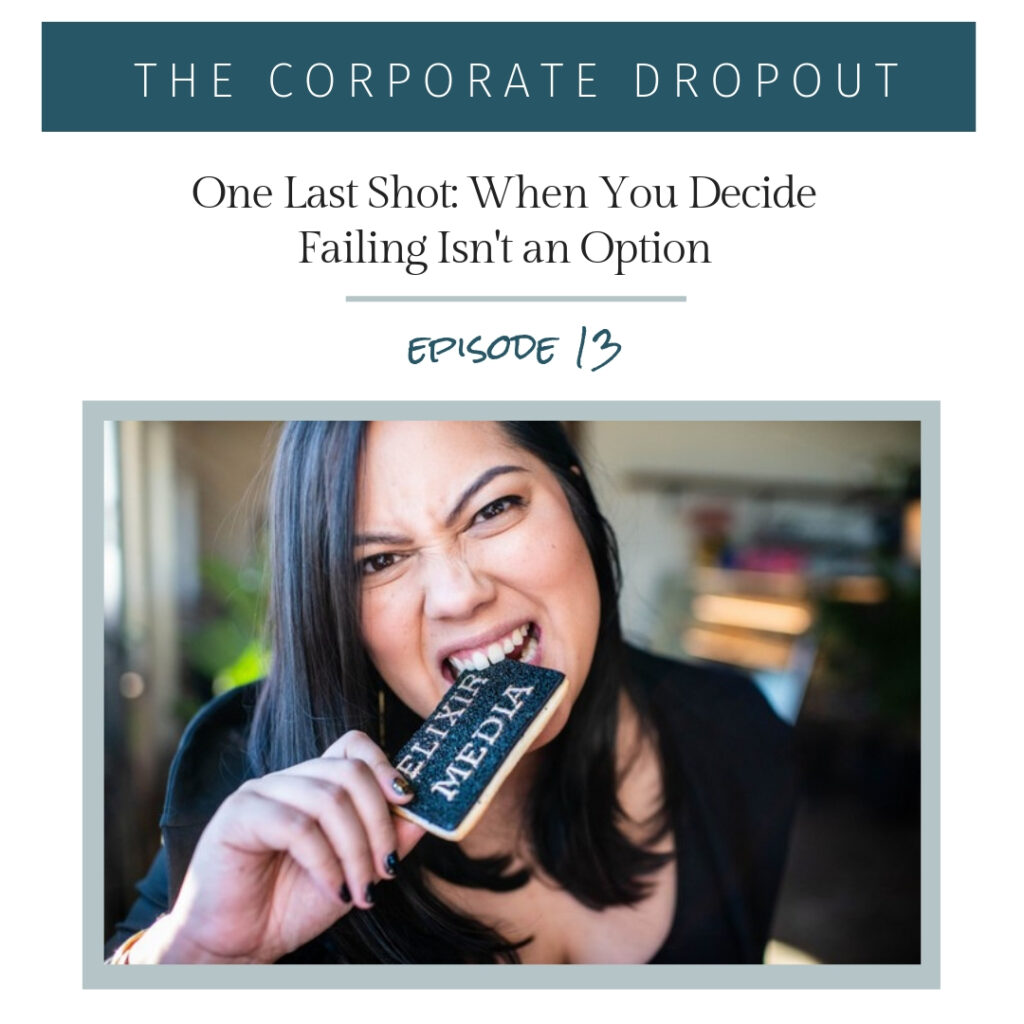 Kristina Knapp, The Corporate Dropout Podcast