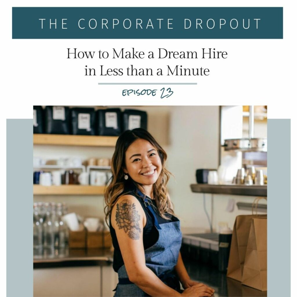 diana yin on the corporate dropout podcast