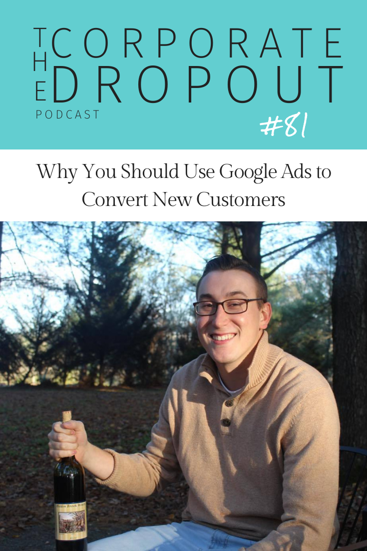 How to use Google Ads with Chris Flook on the Corporate Dropout Podcast