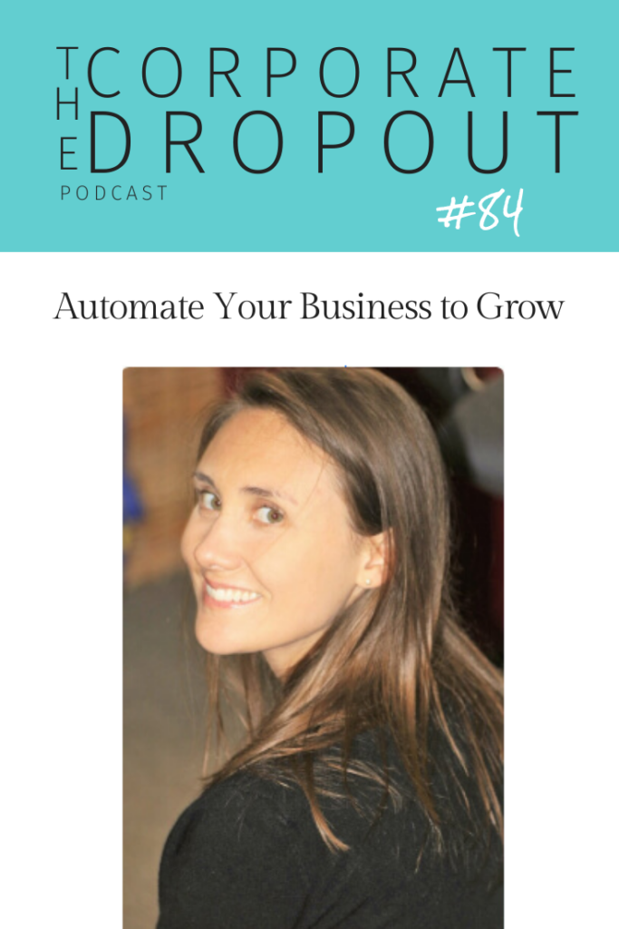 Rachel Haley on the corporate dropout podcast